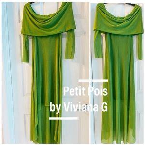 Petit Pois by Viviana G Asymmetric dress